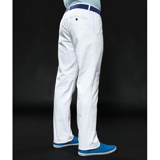 fa76522ba6c Witte katoenen lange broek heren | Actueel diversen - Grote maten shop